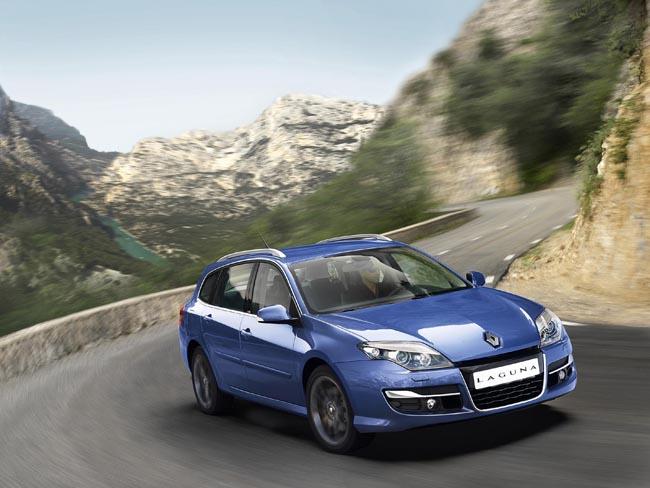 Renault Laguna com novo motor