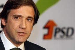 Passos Coelho formaliza recandidatura à liderança do PSD na terça-feira
