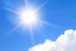 Sol e temperaturas primaveris na próxima semana