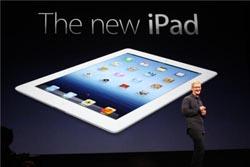 Novo iPad chega amanhã a Portugal
