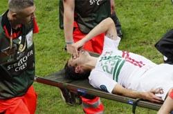 Lesão afasta Hélder Postiga da meia-final