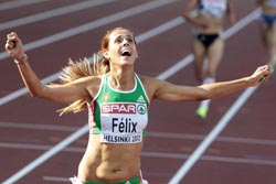 Dulce Félix sagrou-se campeã da Europa dos 10 mil metros