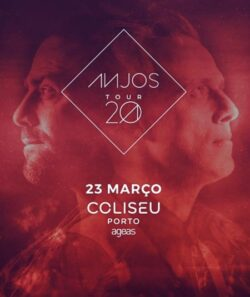 Anjos | Paulo Gonzo, Coliseu do Porto