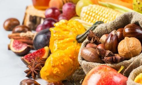 Reforçar a imunidade no outono com a alimentação