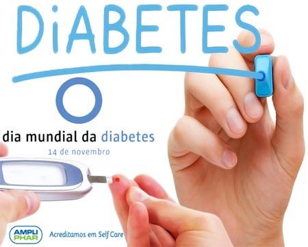 Novembro é o mês de sensibilização para a Diabetes