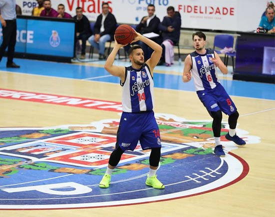 FC Porto – SC Lusitânia: Passatempo Basquetebol