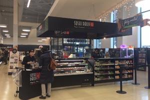 Pingo Doce e Sushi Daily abrem quiosque de sushi em Matosinhos