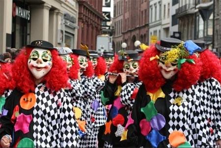 O Carnaval no mundo