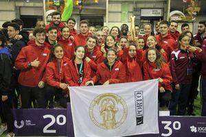 U.Porto é decacampeã nacional universitária de atletismo em pista coberta