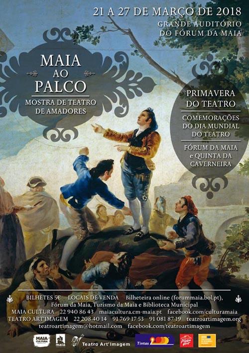 XI Maia ao Palco - XIII Primavera do Teatro