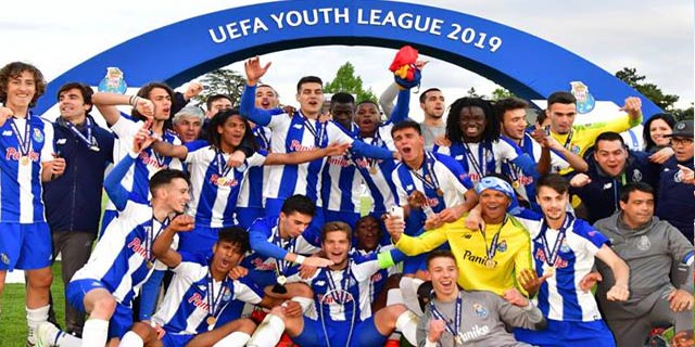 FC Porto vence Youth League e sagra-se campeão europeu de Sub-19