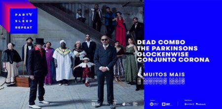 Dead Combo, The Parkinsons e Go!zilla no festival Party Sleep Repeat