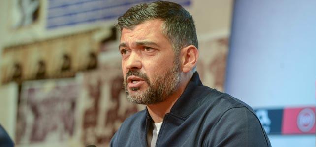 """Sérgio Conceição: FC Porto """"merece estar"""" na fase de grupos da Liga dos Campeões"""