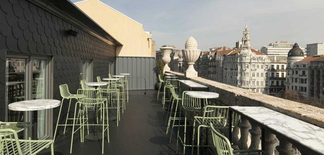 Baixa do Porto tem um novo rooftop