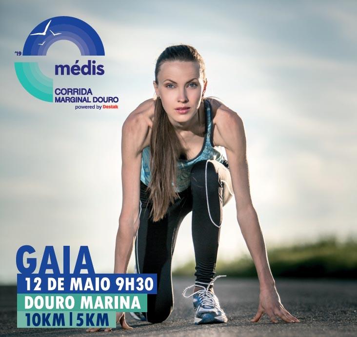 Médis Corrida Marginal Douro powered by Destak leva o desporto à marginal de Gaia