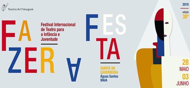 Teatro Art'Imagem vai 'Fazer a Festa' na Maia