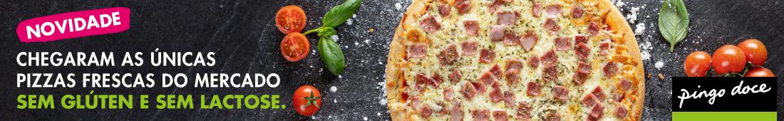 Pingo Doce - Pizza sem gluten