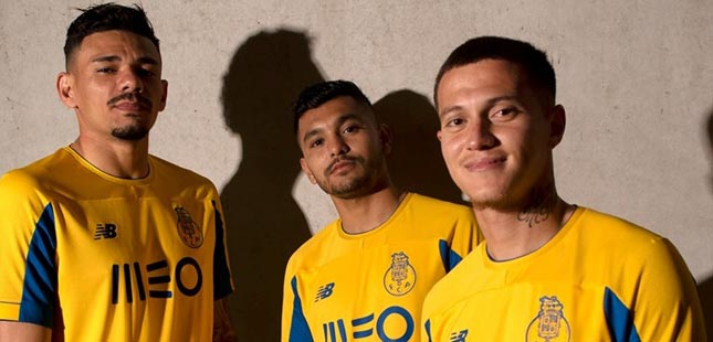 Equipamento alternativo do FC Porto é inspirado na final de Sevilha