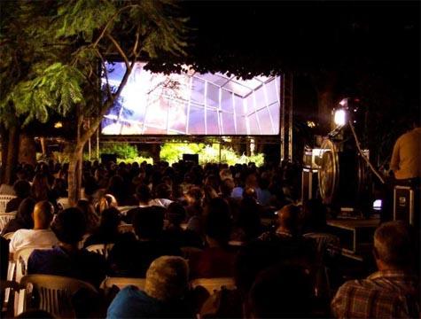 Cinema ao ar livre no Porto
