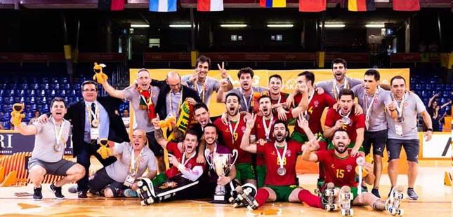 Portugal é campeão mundial de hóquei em patins