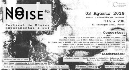 Festival No Noise regressa ao Convento de Francos a 3 de agosto
