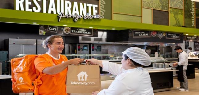 Pingo Doce e a Takeaway.com iniciam entrega de refeições em Lisboa