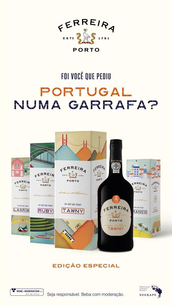 Porto Ferreira: Foi você que pediu Portugal numa garrafa?