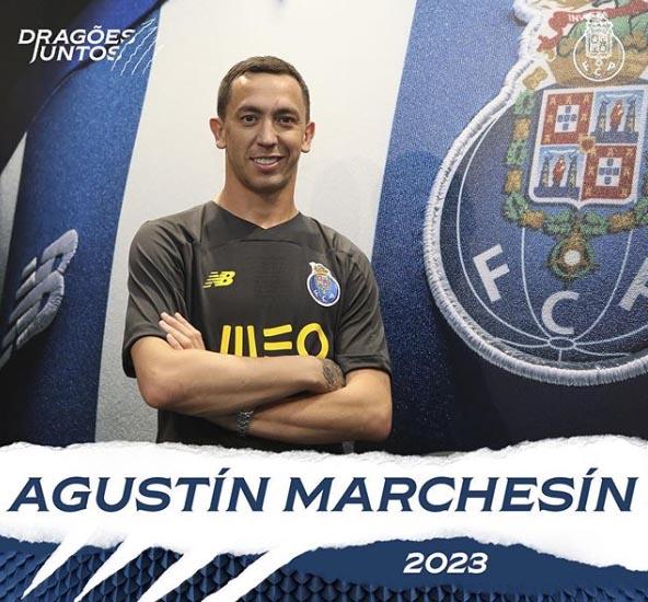 FC Porto anuncia contratação de Marchesín