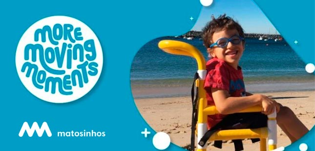 Praias do Marreco e Leça da Palmeira disponibilizam cadeiras para crianças com mobilidade reduzida
