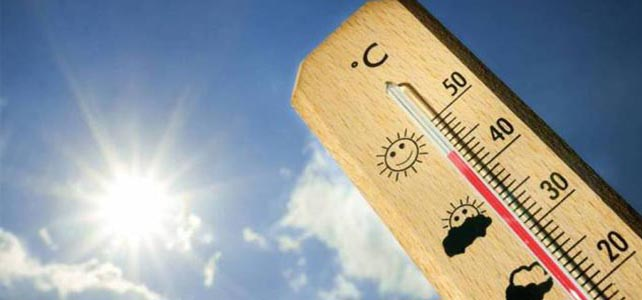 Calor coloca 17 distritos sob aviso amarelo