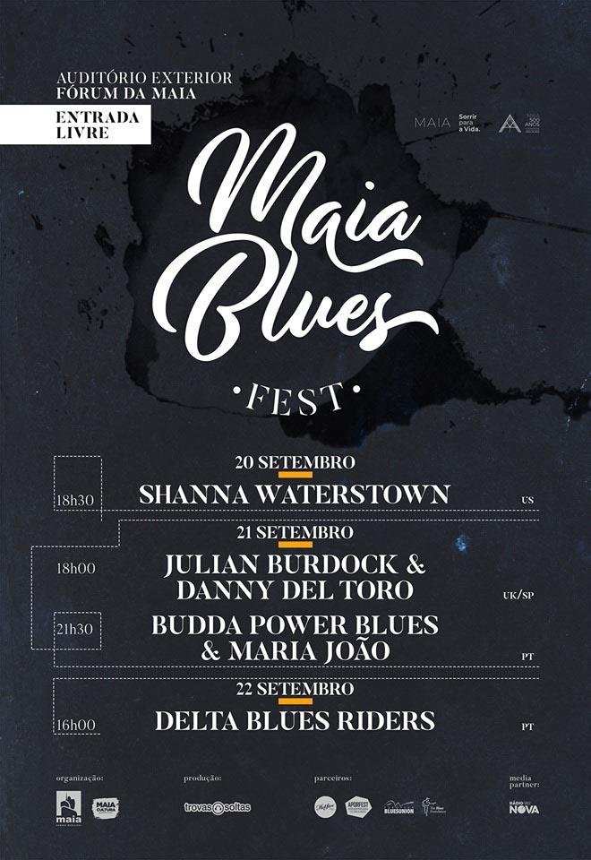 Resultado de imagem para maia blues fest