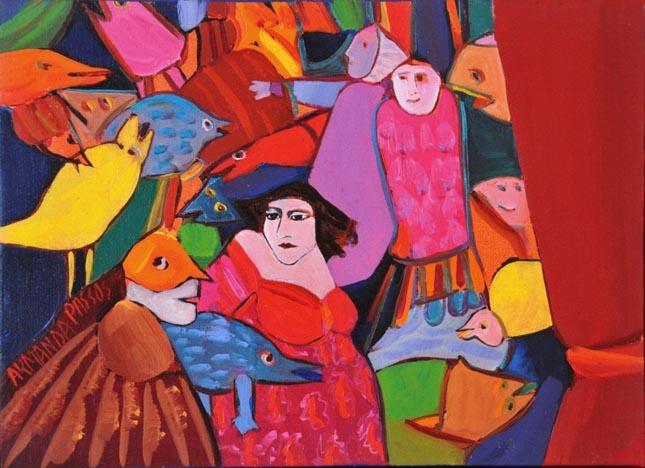 U.Porto celebra os 75 anos da pintora Armanda Passos