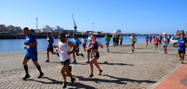 Porto de Leixões abre as portas à população para uma prova desportiva entre navios e contentores