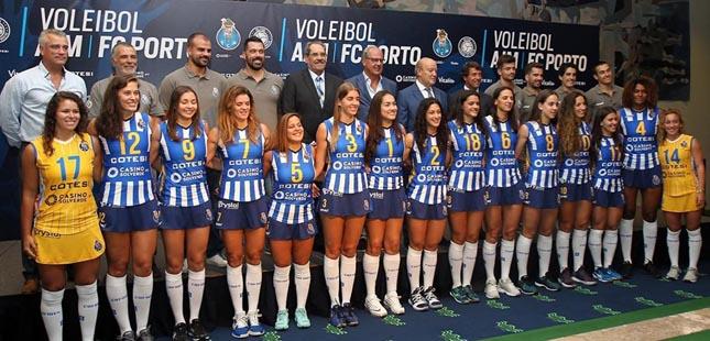 FC Porto apresenta equipa de voleibol feminino