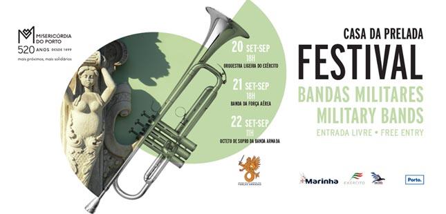 Festival de Bandas Militares assinala aniversário da Santa Casa da Misericórdia do Porto