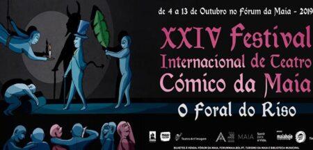 Festival Internacional de Teatro Cómico da Maia decorre na primeira quinzena de outubro