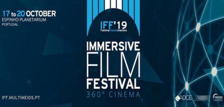 Festival de cinema imersivo em Espinho