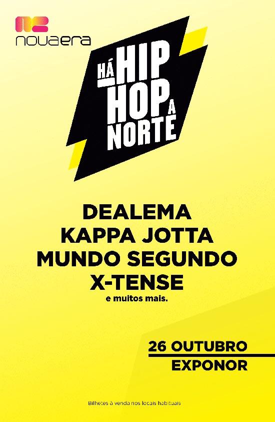 Há hip hop a norte!