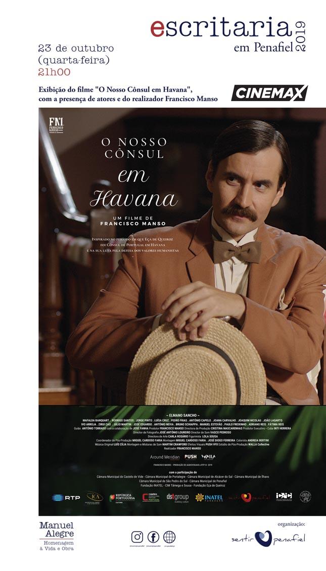 Escritaria acolhe a estreia nacional do filme