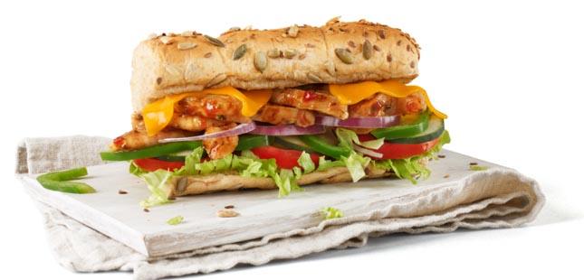 Subway®: preparar a refeição à sua maneira