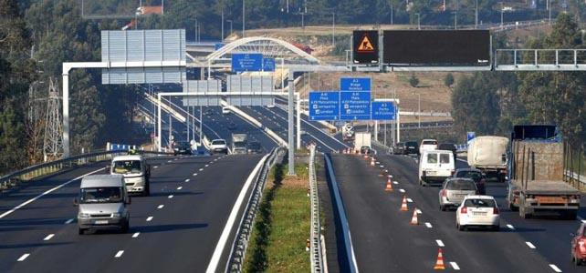 Preços das portagens nas autoestradas mantêm-se em 2020