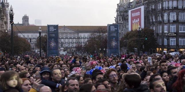 Porto festeja em grande a chegada do Natal à cidade