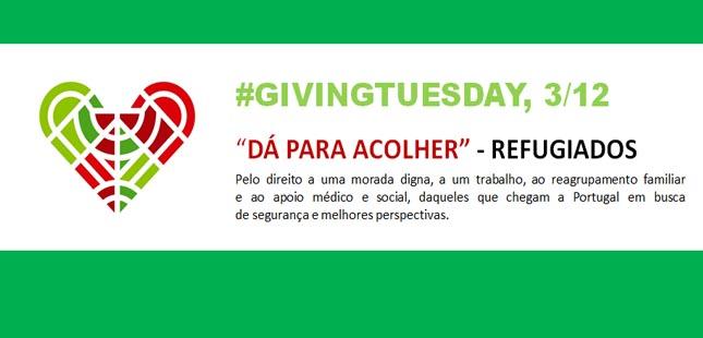 Cruz Vermelha Portuguesa associa-se ao movimento Giving Tuesday