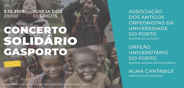 GASPORTO promove concerto solidário