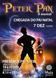 Pai Natal chega ao Maia Jardim ao som do musical do Peter Pan