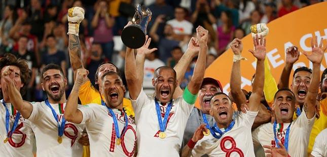 Portugal conquista o terceiro Campeonato do Mundo de Futebol de Praia
