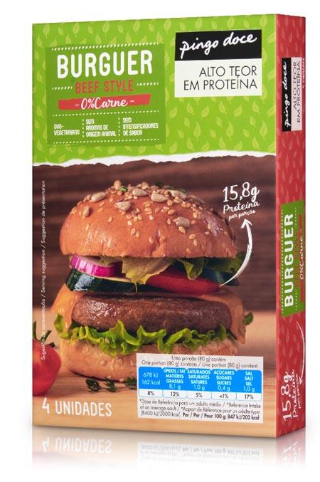 Pingo Doce lança hambúrgueres com 0% de carne
