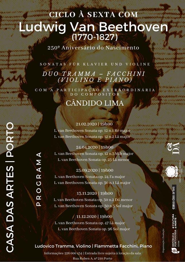 Casa das Artes: À Sexta com Beethoven