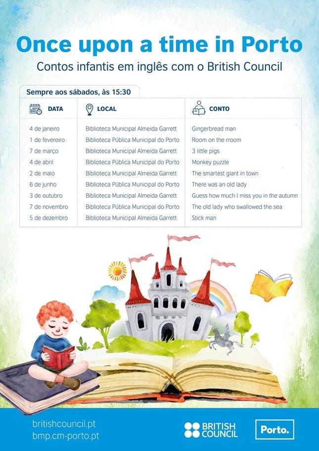 Contos infantis em inglês