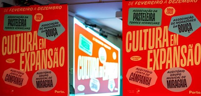"""""""Cultura em Expansão"""" por 22 locais da cidade do Porto"""